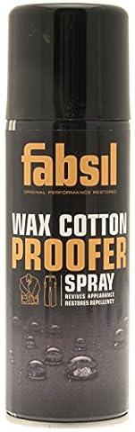Fabsil Wax Cotton Proofer Spray - Black, 200