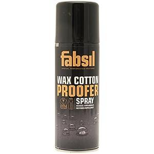 413BOQReYZL. SS300  - Fabsil Wax Cotton Proofer Spray - Black, 200 ml