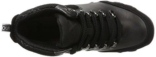 Allrounder by Mephisto Nelja C.suede 1/D.wa 52 Black/Anthr, Chaussures de Running Compétition femme Grau (Black/Anthracite)
