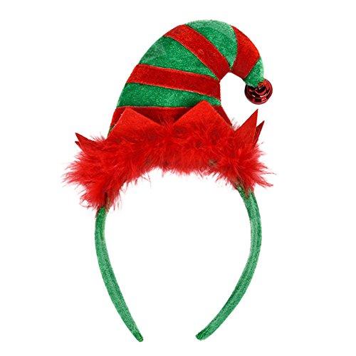 Boodtag Damen Haarreif Weihnachten Rentier Kostüm Haareschmuck Stirnband Kopfbügel Weihnachtsparty Deko (Für Weihnachten Kostüme Damen)