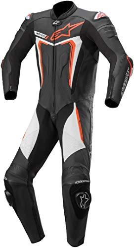 Alpinestars Motegi V3 1-Teiler Motorrad Lederkombi Schwarz/Weiß/Rot 56