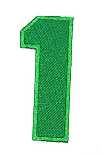 �Buchstabe der Schule Symbol Patch für Heimwerker-Applikation Eisen auf Patch T Shirt Patch Sew Iron on gesticktes Badge Schild Kostüm (Kein Shirt Kostüm)