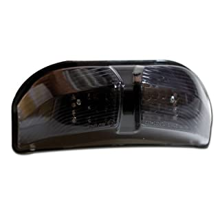Motorrad LED Rücklicht Yamaha Fazer / FZ1 -11, Fazer / FZ8 -13 getönt, Reflek. schwarz, E-gepr. (+Widerst.360260)