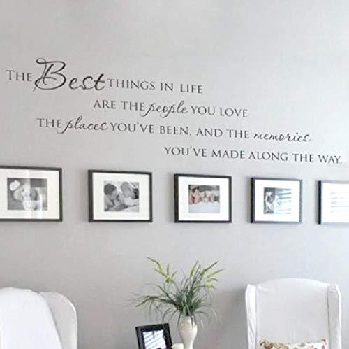 Lyiting Die Besten Dinge Im Leben Wandtattoos ~ Liebe Erinnerungen Wand Zitat Home Art Decal Aufkleber, Große Größe New Holiday Sale Geschenk