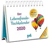Der PAL-Lebensfreude-Tischkalender 2020: Inspirierender Kalender zum Aufstellen, m. 10-Tages-Kalenderium & motivierenden und positiven Gedanken, Spiralbindung, 10,0 x 15,0 cm