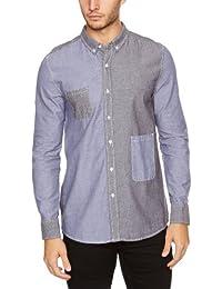 Bellfield Herren Shirt , Button-down