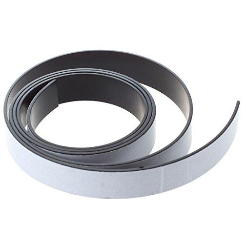 SODIAL(R) 1M Band Magnete Flexible Magnetstreifen Magnetwalze anhaftender Streifen 10x1.5mm