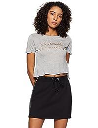 Forever 21 Women's Plain Regular Fit T-Shirt