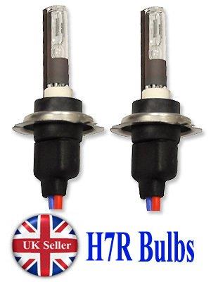 HID-Xenon-Scheinwerfer, H7R, Blendschutz, 35 W, 2 Lampen, 5000 K, weiß