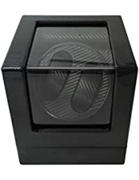 Watch Winder (1 motor 2 relojes) Black-Carbon Fiber