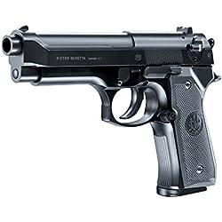 Beretta M92 FS Noir HME Culasse Métal Spring 0.5J Adulte Unisexe, Taille Unique