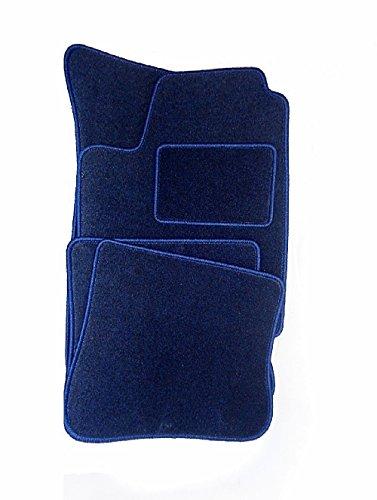 Preisvergleich Produktbild Passgenaue Velours Matten Textil Autoteppiche DUNKELBLAU KO-DUNKELBLAUVMFO033