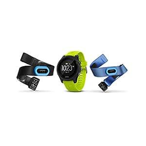 Garmin Forerunner 935 Bluetooth Black sport watch - sport watches (Black, Polymer, Water resistant, Silicone, Glass, 5 ATM)