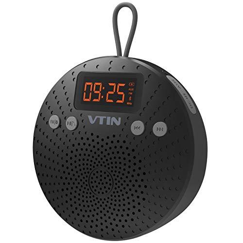 VicTsing Altavoz Bluetooth, 5W Mini Altavoz Bluetooth V4.0 con Ventosa, Funciones de...