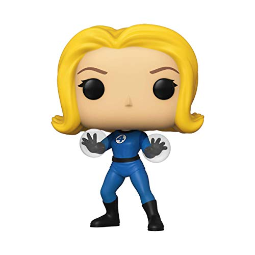 Funko- Pop Marvel: Fantastic Four-Invisible Girl Collectible Toy, Multicolor (44986)
