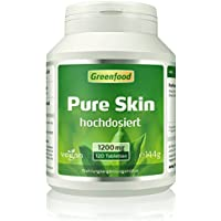 Greenfood Pure Skin aktiv, hochdosiert, 120 Tabletten preisvergleich bei billige-tabletten.eu