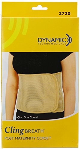 Cling Breath Post Maternity Corset - 90 to 100 cm (Large)