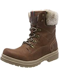 Mustang Women's Schnür-Booty Ankle Boots