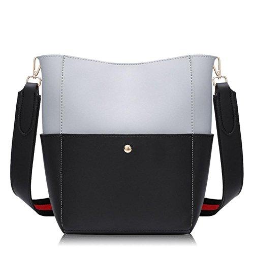 GBT Neue Dame Bag Fashion Damentasche, Handtasche black ash