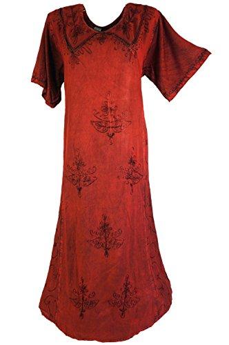 Guru-Shop -  Vestito  - Donna Rosso