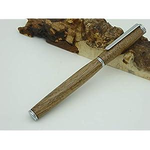 Füller Nussbaum, Walnuss, Holz handgedrechselt, Unikat