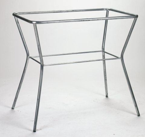 Tischgestell f. Spülwanne 100 Gesamthöhe 80 cm