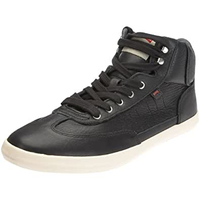 CAMPER, Pelotas Vulcanizado Herren Sneaker 36422-006, Glattleder EU 44 schwarz (Slider Negro/Vulkan Pau-Miel)
