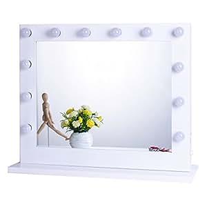 chende wei hollywood schminkspiegel mit beleuchtung b hne kosmetikspiegel sch nheit. Black Bedroom Furniture Sets. Home Design Ideas