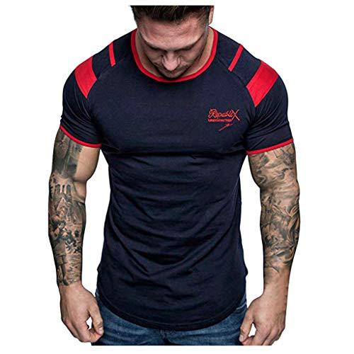 Rosennie_Bluse Herren Tankshirt Tops Sport Shirt