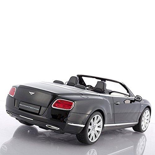 RC Auto kaufen Spielzeug Bild 3: Cabrio Bentley Continental GT schwarz ferngesteuert mit LED-Licht - Maßstab 1:12*