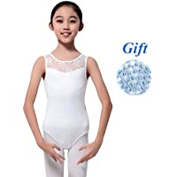 9337c2d23b6f Hougood Girls Ballet Leotards Gymnastic Leotards Classic Bodysuit Kids  Flower Lace Dance Leotard Gymnastics Ballet Athletic