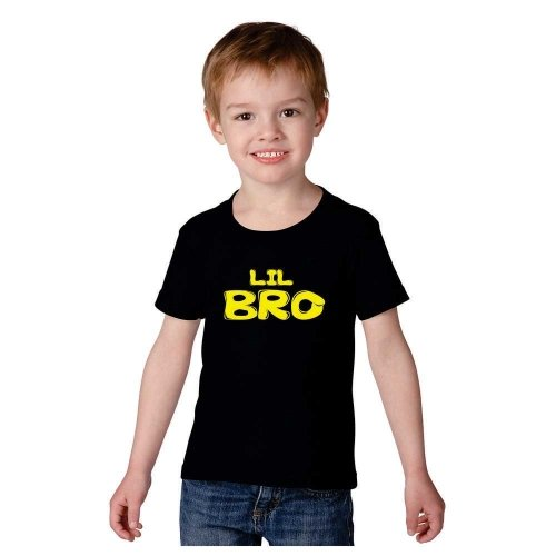 Kids-t-shirt-Giftsmate-Little-Brother-Kids-Boy-100-Cotton-T-shirt-for-Brother
