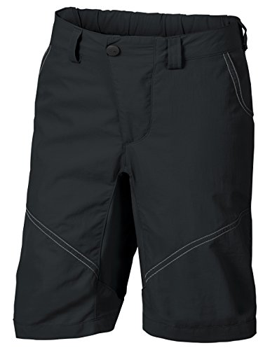 VAUDE Kinder Kids Grody Shorts V Hose, Black, 158/164