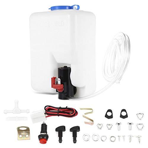 MXECO Lavadora Tanque Bomba Kit de botella Sistemas de limpiaparabrisas universales Depósito de calidad