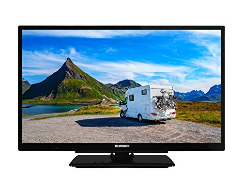 Telefunken XH24G501V 61 cm (24 Zoll) Fernseher (HD-ready, Triple Tuner, Smart TV, Prime Video, 12 Volt)