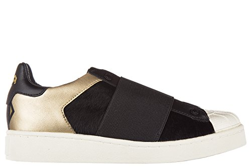 Moa Master of Arts scarpe sneakers donna in pelle nuove action nero EU 37 M409 M08B