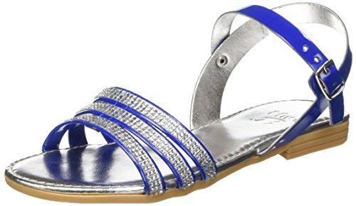MINI MIGNON 3619175, Sandales Bride Cheville Mixte Enfant Bleu (Blu)