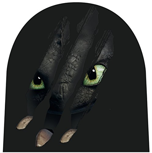 Preisvergleich Produktbild Dreamworks Dragons Kinder Mütze Ohnezahn Krallen, schwarz