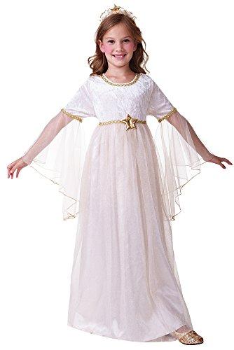 Bristol Novelty CC447 Engel Kostüm mit langen Ärmeln (Kinder Kostüm Engel Gabriel)