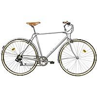 Fabric City Classic-Bicicleta de Paseo (M-53cm, Classic Matte Grey Original)