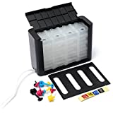 HITSAN DIY 4 Colors Refillable Ink Cartridge 100ML For HP Canon Series Printer One Piece