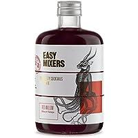 EASY MIXERS: RED MALLOW - Hibisco & Naranja - Cocktail Premix: Botella 50CL