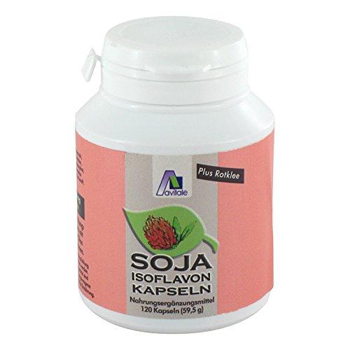 Soja Isoflavon Kapseln 60 mg+E - Soja Isoflavone 120 Kapseln