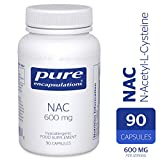 Pure Encapsulations - NAC 600 mg - Professional Strength N-Acetyl-L-Cysteine - 90 Capsules