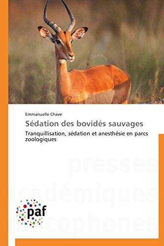 Sédation des bovidés sauvages par Emmanuelle Chave
