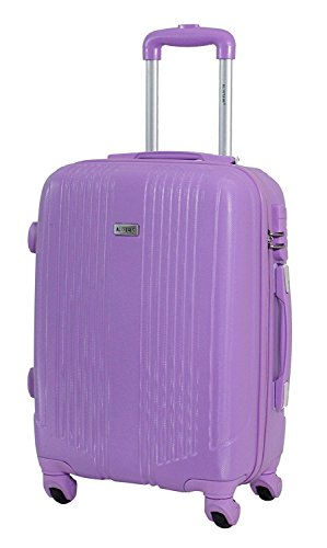 Valise cabine 55cm - Trolley ALISTAIR Airo - ABS ultra Léger - 4 roues (Pink New)