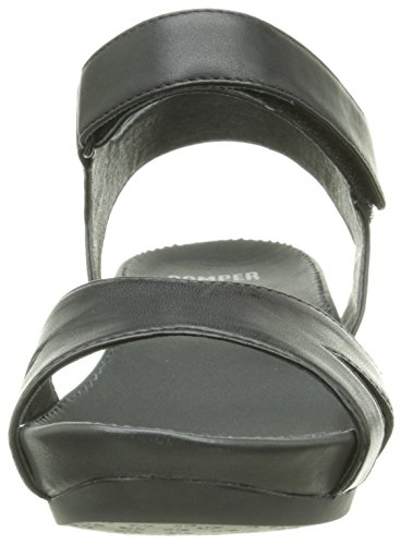 Camper Micro, Sandales Femme Noir (Black)