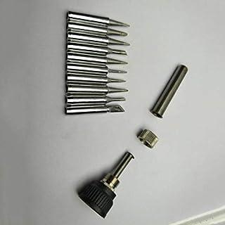 KinshopS 10pcs/SET Lead-free Solder Iron Tip 900M-T Iron casing For 936 SAIKE ATTEN