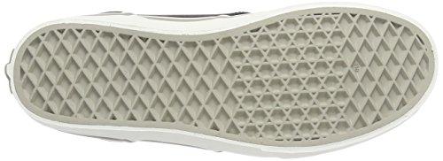 Vans - Y Atwood Hi Leather, Alte Scarpe Da Ginnastica infantile Grigio (Grau ((Leather) black/aluminum))