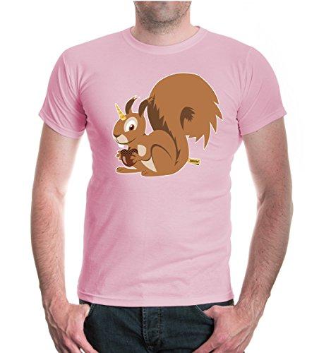 buXsbaum® T-Shirt Einhörnchen Lightpink-z-direct